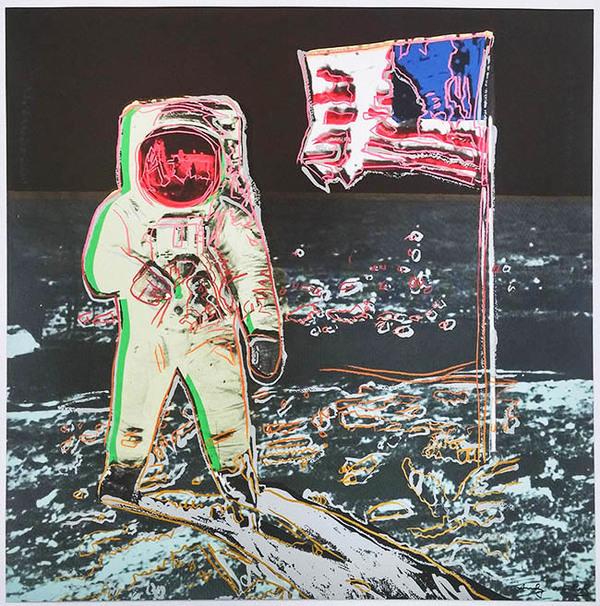 Andy Warhol, 'MOONWALK FS II.404-405 TP', 1987, Marcel Katz Art