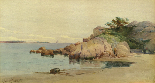 Melbourne H. Hardwick, 'Half Moon Beach, Gloucester', 19th -20th Century, Vose Galleries