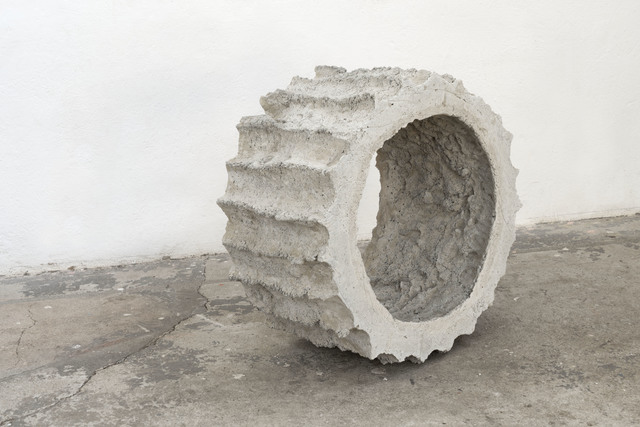 Mischa Sanders & Philipp Putzer, 'Sans titre  #1', 2021, Sculpture, Concrete and clay, OH GALLERY