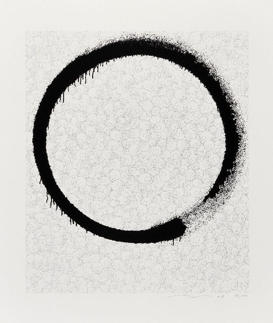 Takashi Murakami, 'Ensō: A World Filled with Light', 2018, Roseberys