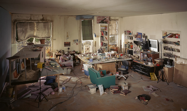 , 'Living Room,' 2013, ClampArt