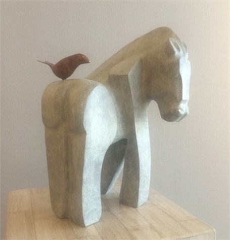 , 'She Rides a White Horse,' , Russell Collection
