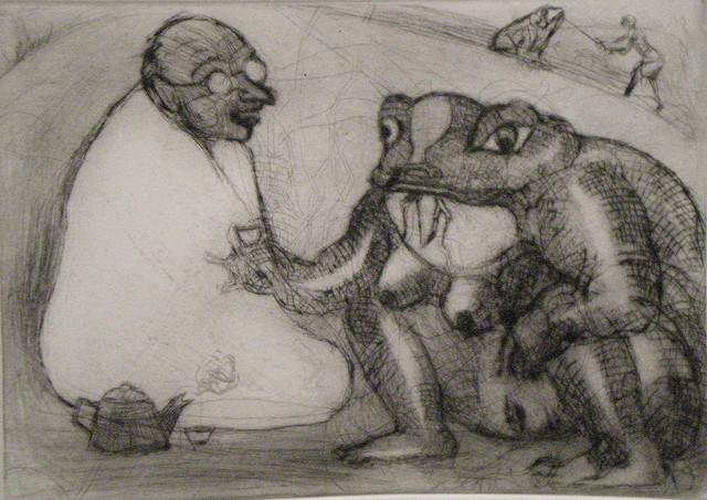 , 'Ghandi Tomando Te Con Sapo,' , Stern Fine Art