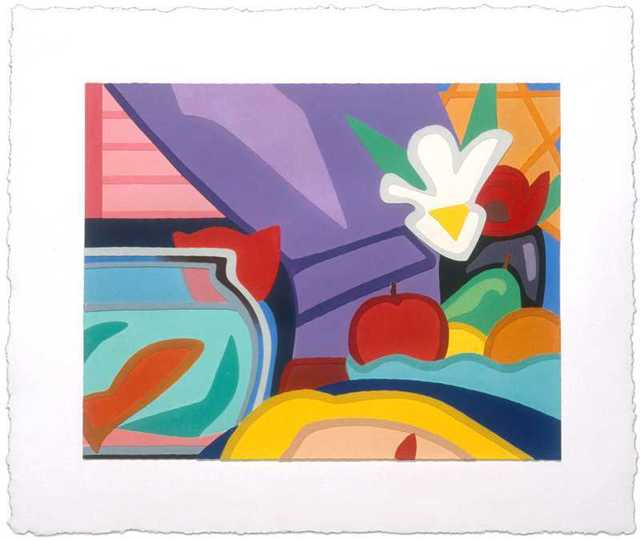 Tom Wesselmann, 'Still Life with Blonde and Goldfish', 2000, Kunzt Gallery