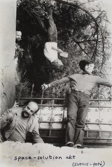 , 'Spatial Confusion (Miklós ERDÉLY, Tibor GÁYOR, György JOVÁNOVICS, Tamás SZENTJÓBY),' 1972, Vintage