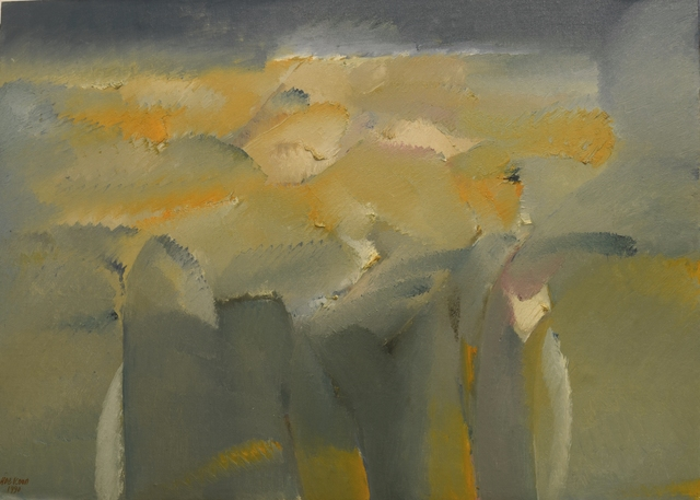 , 'Sunset Hillside View,' 1990, Artcommune Gallery