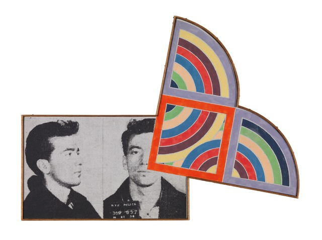 , 'Andy Warhol - Most wanted man #11, 1963 and Frank Stella - Sabra II 1967,' 1969, Galerie Mitterrand