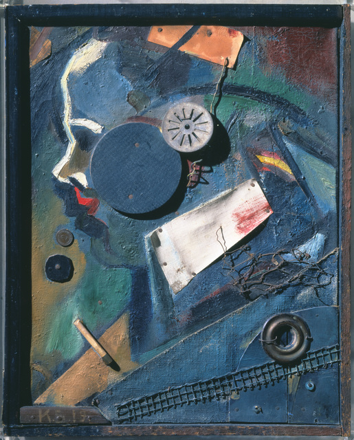 Kurt Schwitters, 'Merzbild 1A. The mental doctor.', 1919, Sculpture, Mixed Media, Art Resource