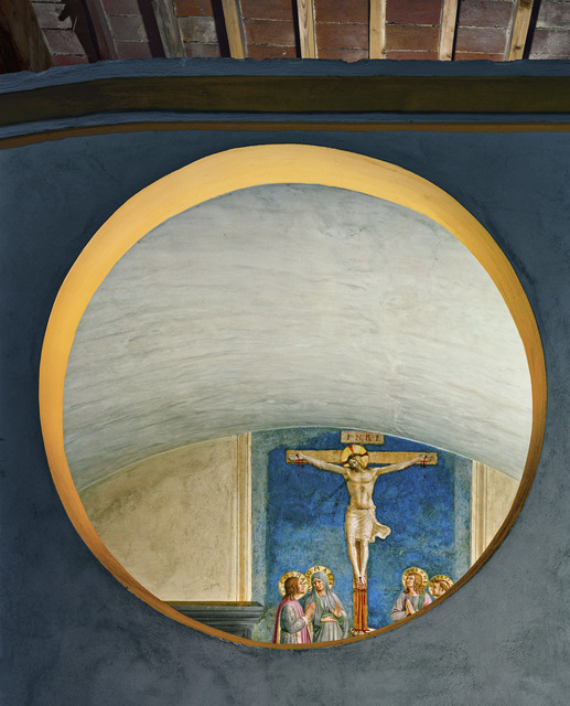Robert Polidori, 'Crucifixion with the Virgin and Sts Cosmas, John the Evangelist and Peter Martyr by Fra Angelico, Florence, Italy', 2010, Flowers