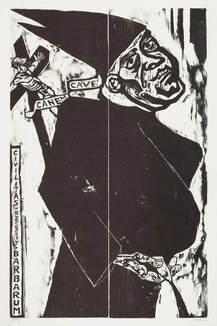 , 'Cave Canem (Civilitas Successit Barbarum),' 1949, Galerie St. Etienne