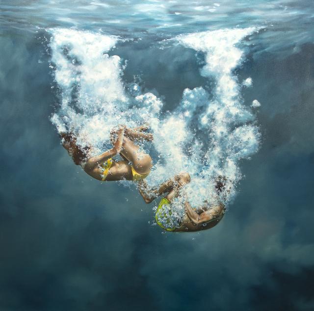 , 'Tumbling Through It All,' 2019, Gallery Henoch