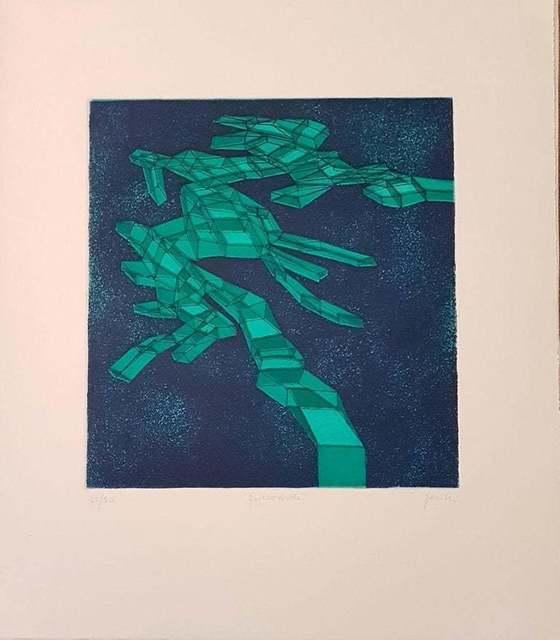Achille Perilli, 'Quieroverde', 1971, Wallector