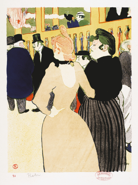 , 'Au Moulin Rouge, la Goulue et sa soeur,' 1892, Montreal Museum of Fine Arts