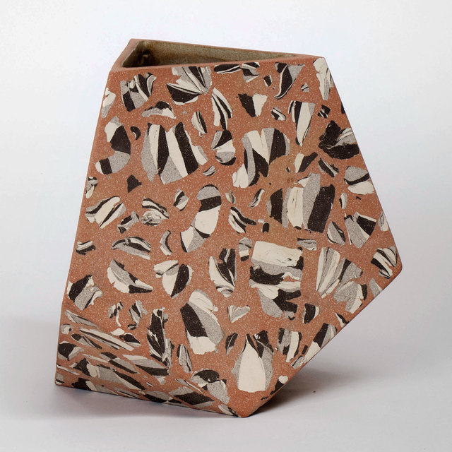 , 'Pentagonal Facet Vessel,' 2014, Patrick Parrish Gallery