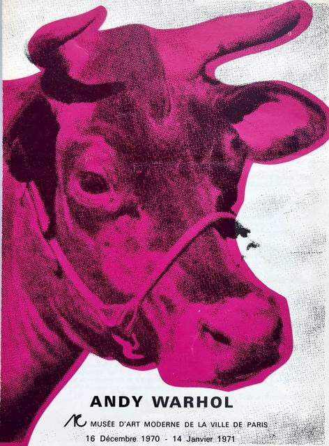 Andy Warhol, 'Andy Warhol Musee d'Art Moderne catalog (Warhol Cow)', 1970, Lot 180