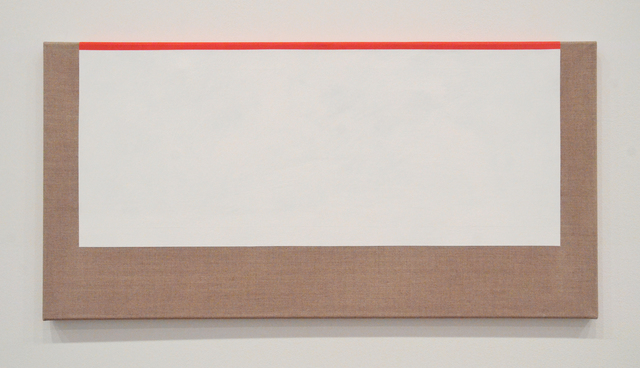 , 'White and Red,' 2017, Minus Space