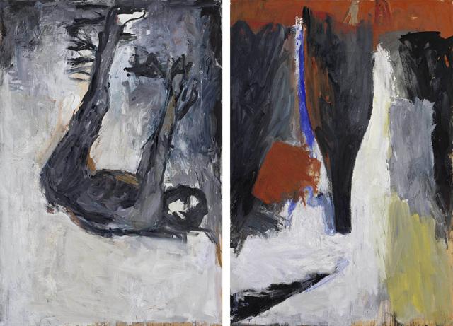 """, '""""Akt und Flasche (Nude and Bottle)"""",' 1977, Michael Werner Gallery"""
