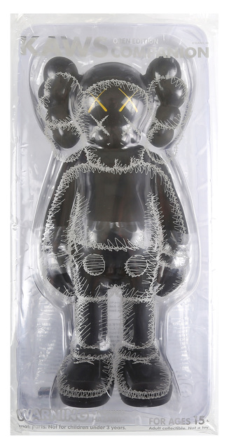 KAWS, 'Kaws Companion, Open Edition, Black', 2016, Chiswick Auctions