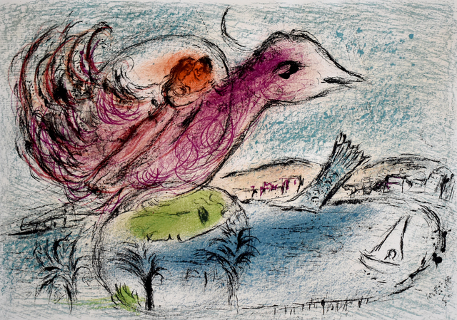 Marc Chagall, 'The Bay   La baie', 1962, Gilden's Art Gallery