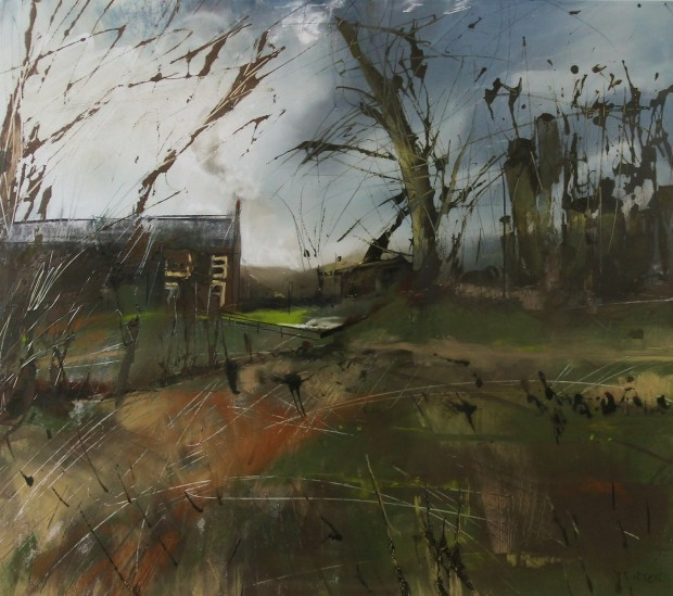 , 'Boxing Day, Park End,' 2017, Castlegate House Gallery