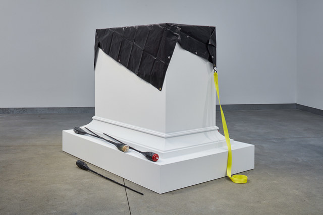 , 'Untitled (blunt instruments),' 2018, di Rosa