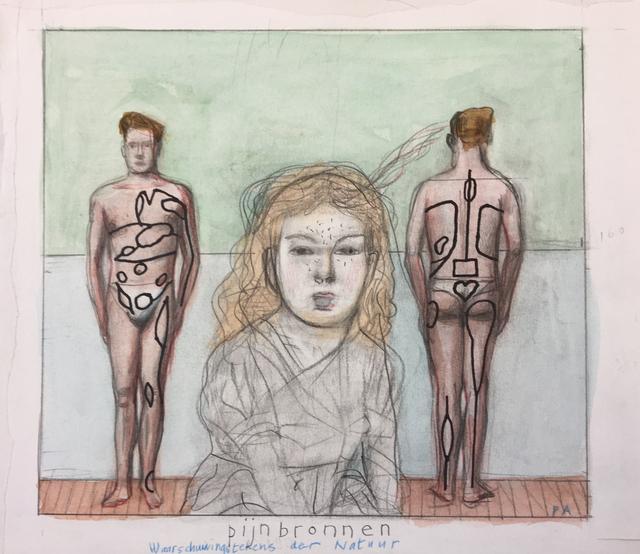 Pat Andrea, 'Pijnbronnen (study)', 2018, Galerie DYS