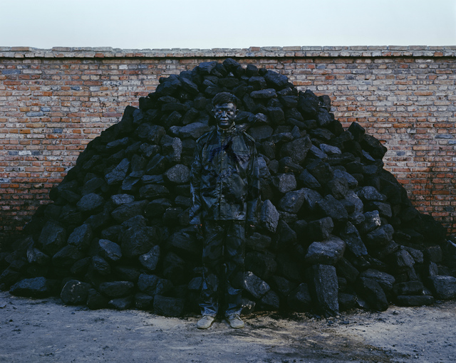 Liu Bolin, 'Hiding in the City - n° 95 - Coal Pile - 8/8', 2010, art&emotion Fine Art Gallery