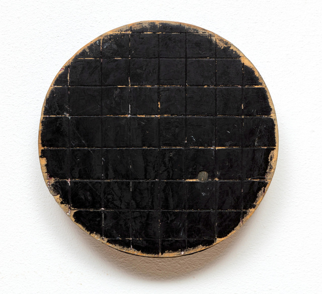 , 'Round Black Grid,' 1992, Marc Straus