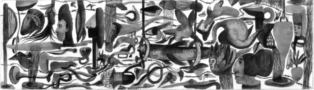 , 'ink on paper,' 2018, Cep Gallery