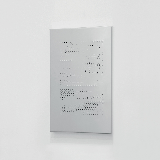 Riccardo De Marchi, 'Pagina', 2016, Mixed Media, Stainless steel mirror, holes and relief, A arte Invernizzi