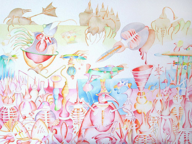 Pradeep Puthoor, 'Pink Soul Island', 2009, The Noble Sage Collection