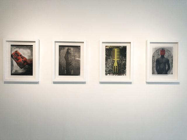 , 'Serie superimpose,' 2016, NG Art Gallery