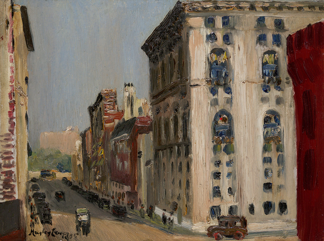 Hayley Lever, '66th Street, Looking West, New York', 1935, Questroyal Fine Art