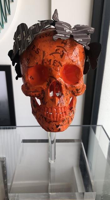 Stephen Wilson, 'Sac Skull (Hermes)', 2019, Axiom Fine Art