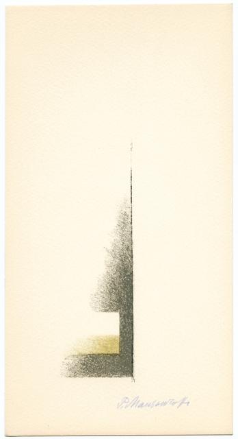Paul Mansouroff, 'Untitled', 1967, Artsnap