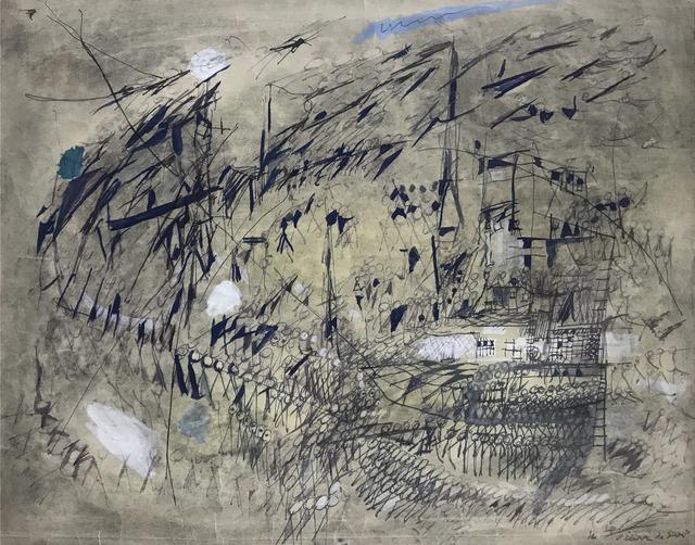 , 'Le Vent,' 1950, Mirat Projects