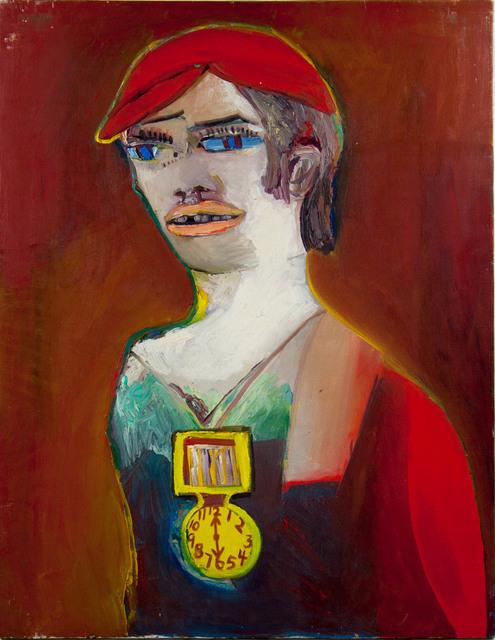 Anne Marie Marie Hall, 'Untitled (Yeah Boy!)', ca. 1960s, Painting, Oil on canvas, Angela Tandori Fine Art