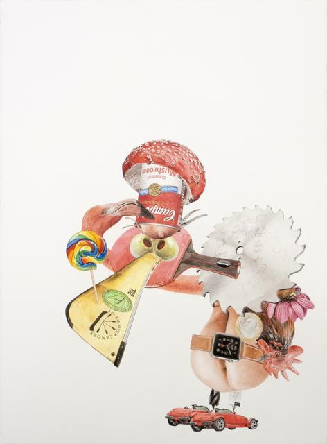 , 'Condor (Jo Condor),' 2016, Accesso Galleria