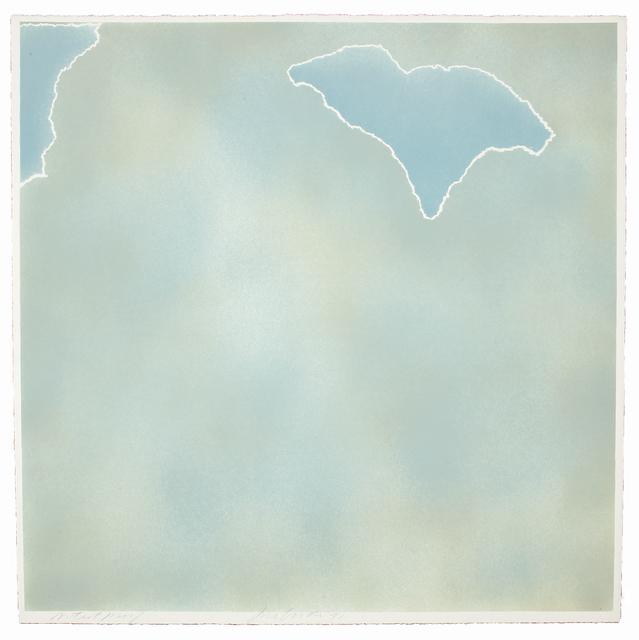 , 'Untitled (blue paper clouds),' 1971, Bernard Jacobson Gallery