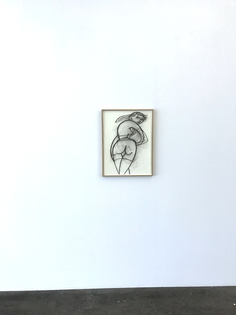 , 'gap girl,' 2017, Kunstverein Reutlingen