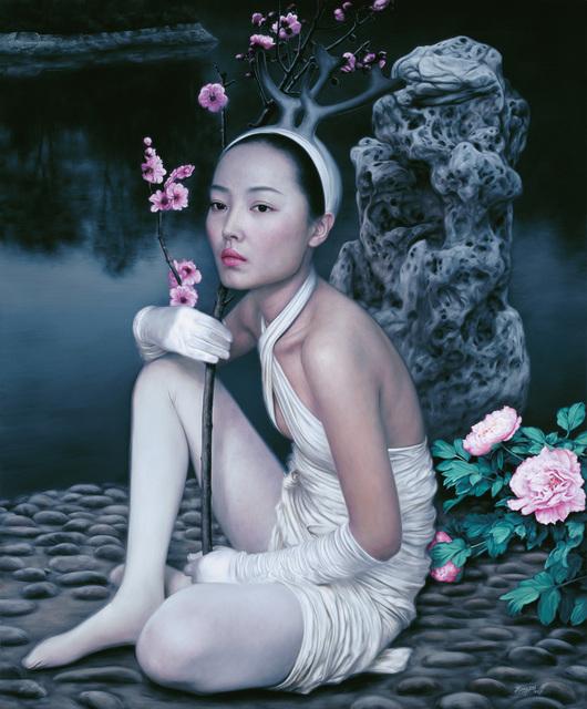 he hongbei, 'Lakeside', 2012, Soemo Fine Arts