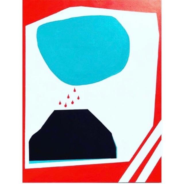 , 'Volcano,' 2018, Dab Art