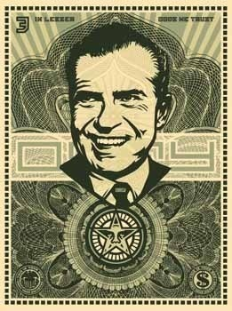 , 'Nixon money,' 2003, MUCA