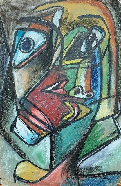 Rolph Scarlett, 'Two Faces', ca. 1930, Lawrence Fine Art