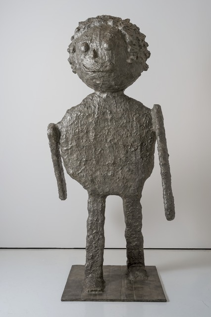 , 'GLOBE HEAD FIGURE,' 2008, McClain Gallery
