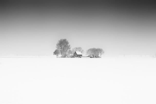 Frank Peters, 'House in White', 2019, Online Galerij