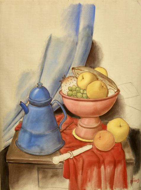 , 'Still Life with Coffee Pot,' 1993, Beatriz Esguerra Art