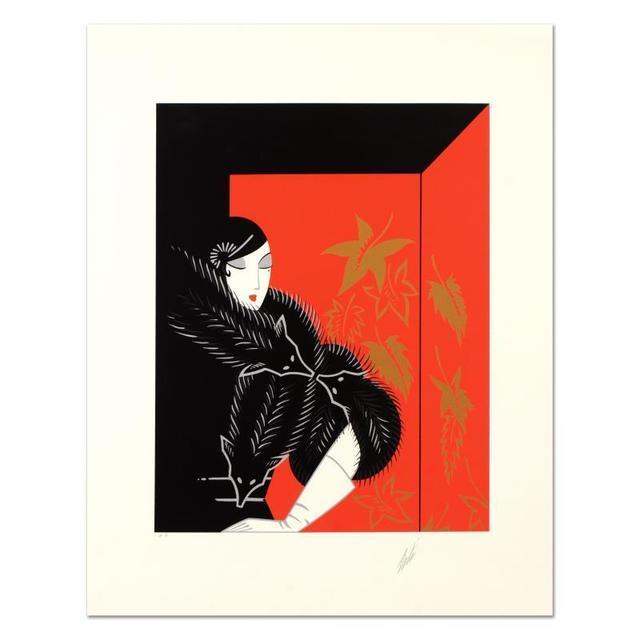 Erté, 'Furs', 1970-1990, Print, Board, QART.COM