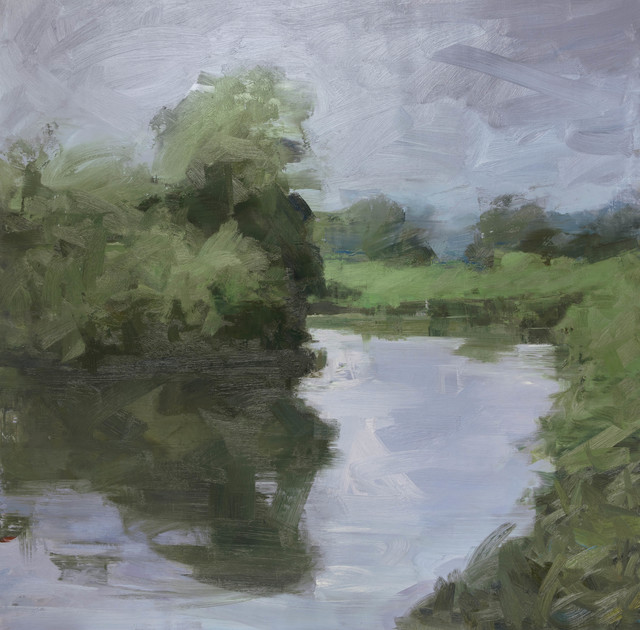 , 'Morning - Bend in the River,' 2017, Flowers