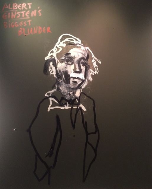 , 'Albert Einstein Biggest Blunder,' 2015, Zemack Contemporary Art